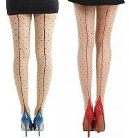 Pamela Mann Jive Seam Dotty Tights